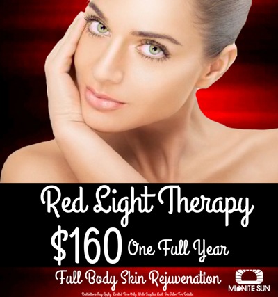 Purchase an Entire Year of Unlimited Red Light Therapy for only $160!