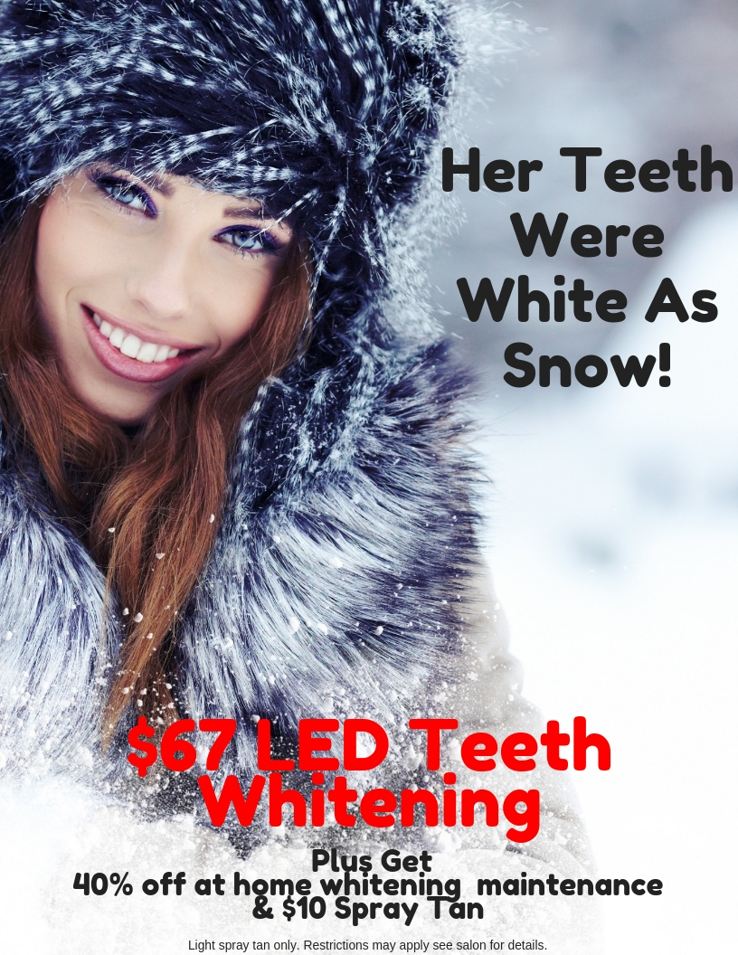 Her Teeth Were White As Snow!